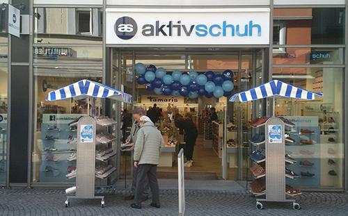 Neueröffnung Aktiv Schuh in Eisenach